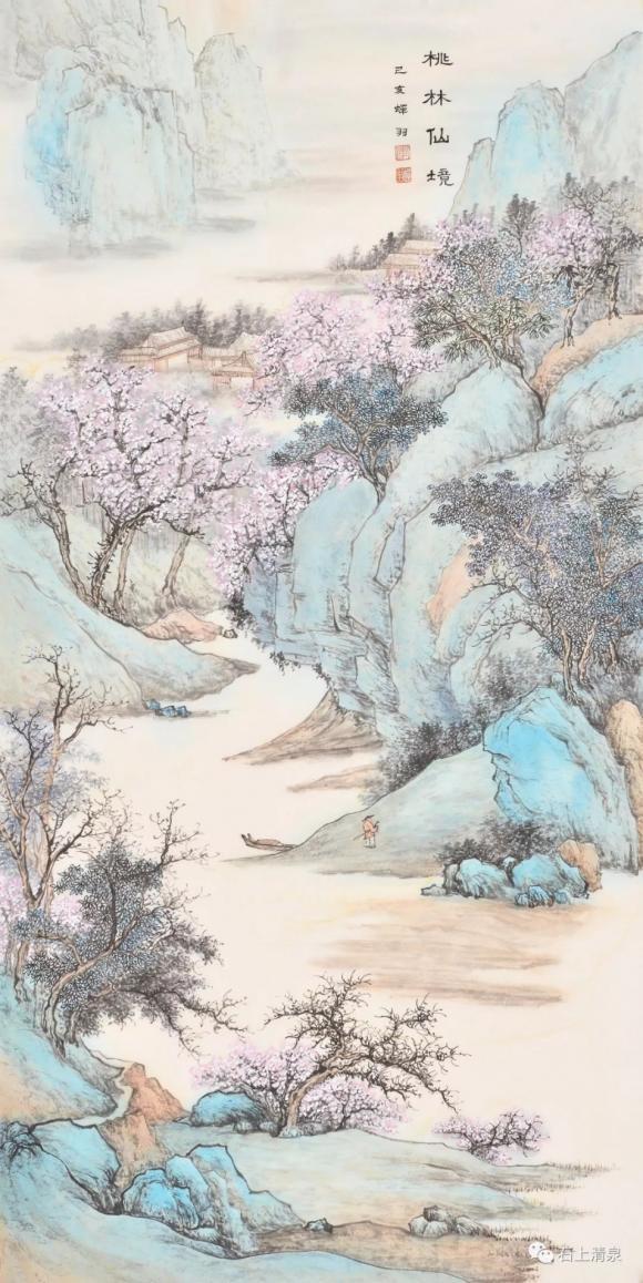 笔精墨妙信入神——评李蝉羽的绘画艺术