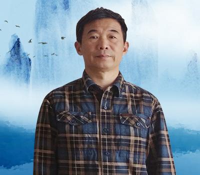 画家蒋伟国画山水作品,笔墨之间尽是儒雅韵律!