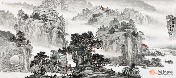 心性清静万物归一丨超凡境界的当代画家——林德坤