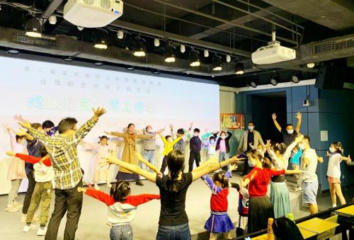 第二届深圳福田儿童戏剧周20场活动好评不断