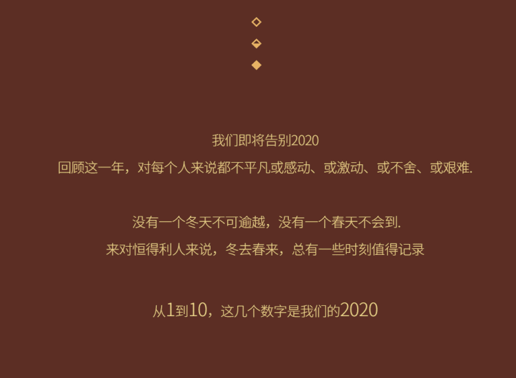 恒得利珠宝|从1到10,这几个数字是我们2020-2021